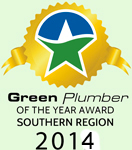 Green Plumber of the Year 2014
